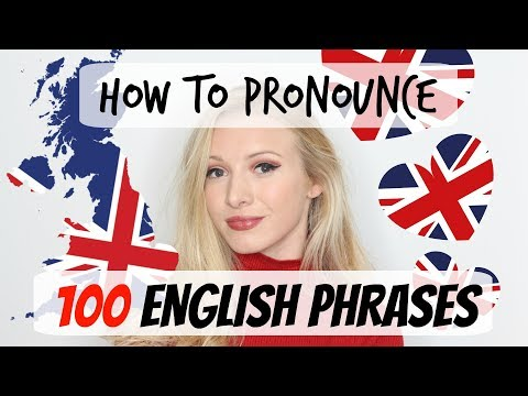100 English phrases pronunciation and vocabulary lesson