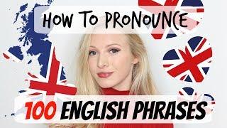 100 English phrases pronunciation and vocabulary lesson #Spon