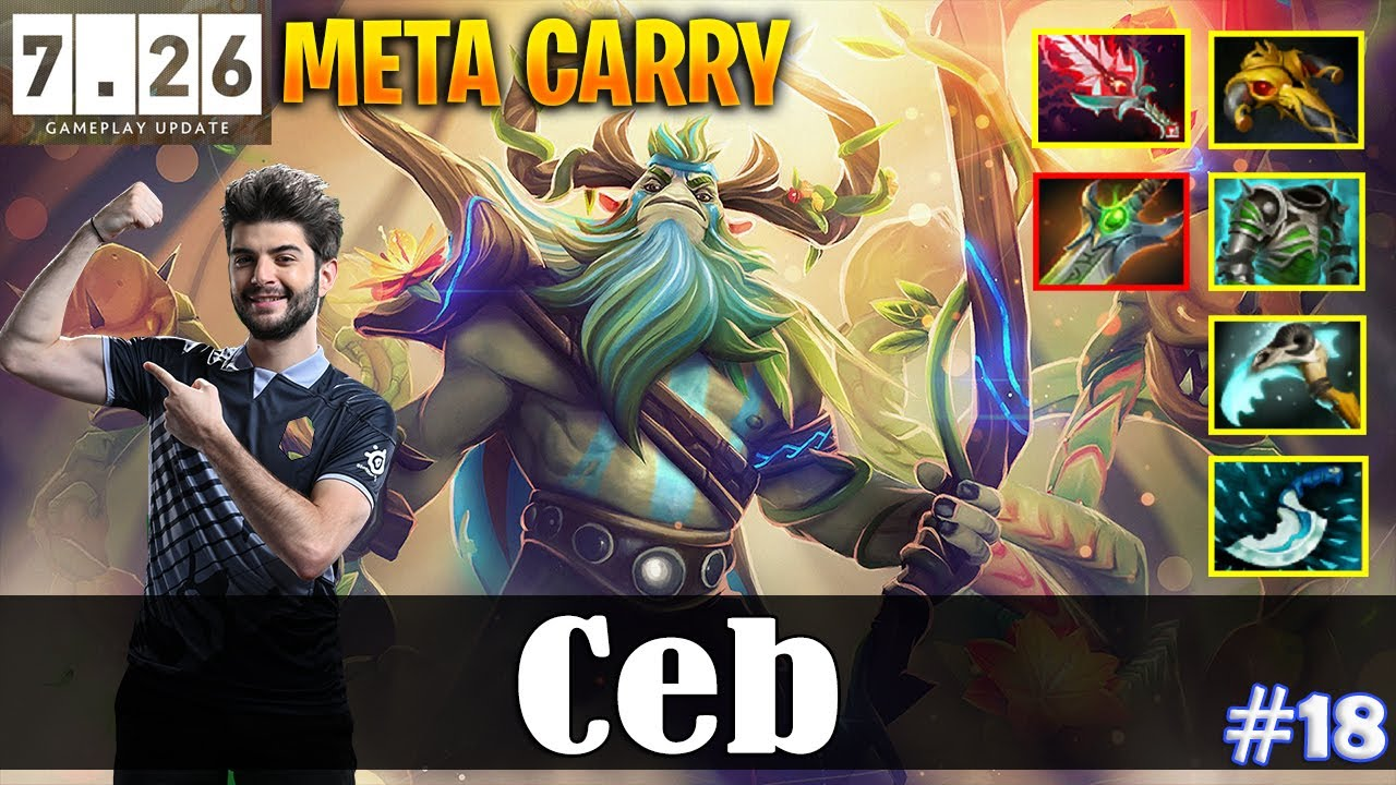 Ceb Nature S Prophet Offlane Meta Carry 7 26 Update Patch Dota 2 Pro Mmr Gameplay 18 Youtube