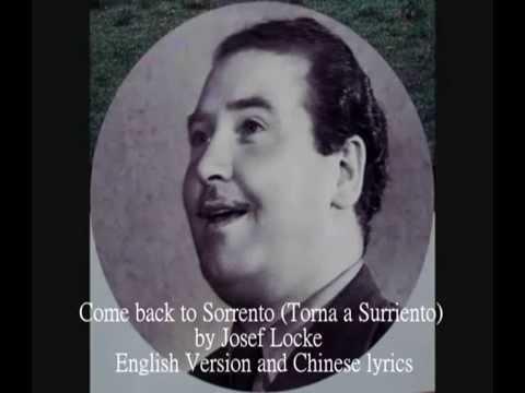 Come Back To Sorrento - Joseph Locke | Shazam