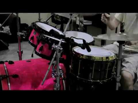 "Black Beauty 14""x8"" Meka Snare drum และ กลองชุด B Series"