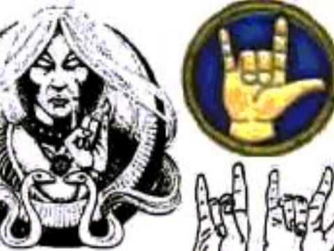Satanic Hand Signals Youtube