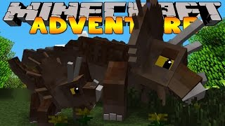 Minecraft Adventure - A DAY IN JURASSIC WORLD! (Custom Roleplay)