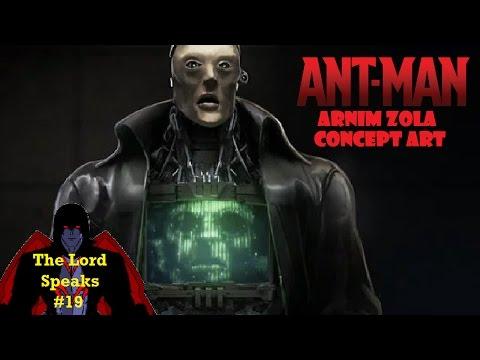 The Lord Speaks #19: Unused Ant Man Arnim Zola Concept Art