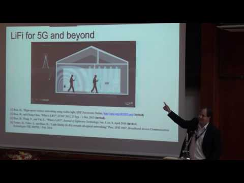 LiFi 6G Attocell Networking - Professor Harald Haas - IEEE Black Sea Com Opening