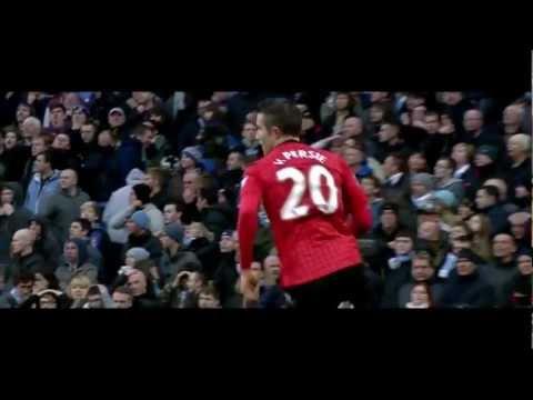Robin Van Persie Vs Manchester City 2012-13 HD