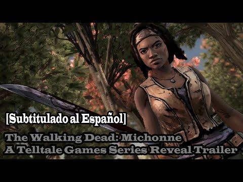 The Walking Dead: Michonne (DLC de The Walking Dead Season 2) Trailer [Subtitulado al Español]