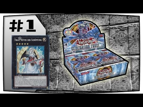 Bestes Unboxing eines Yu-Gi-Oh! Generation Force Displays ?! #1