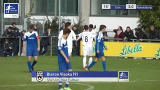 A-Junioren - SSV Ulm 1846 Fussball vs. FV Ravensburg 3:0 - Bleron Visoka