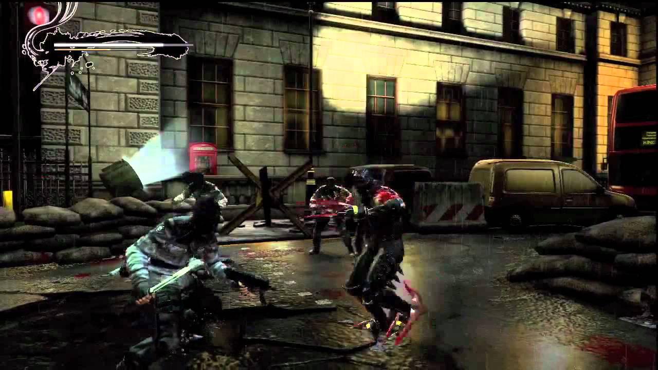 Ninja Gaiden 3 Falcon Claws Gameplay Youtube