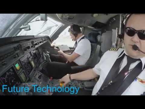 Starting up a Jet Engine!Footage inside cockpit.