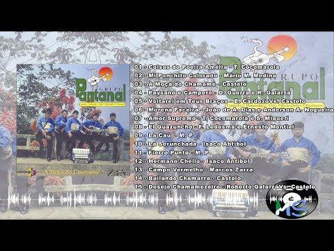 Grupo Pantanal - A Moça do Chamamé 1998 (Cd Completo)