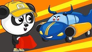 Мультик Про Машинки  Спортивный Автомобиль  Развивающие Мультфильмы Для Детей