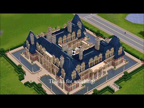 The Sims 3 - Versailles Hunting Lodge PICTURE TOUR
