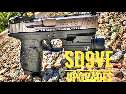 Smith & Wesson SD9VE Upgrades (Apex Tactical & Dagger Defense)