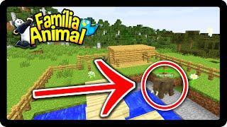 Minecraft: ESSE ANIMAL PODE SER MUITO PERIGOSO !! - FAMÍLIA ANIMAL #22