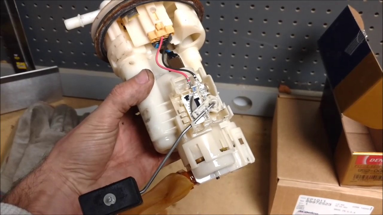 Buick Century Wiring Diagram How To Change Pontiac Vibe Toyota Matrix Fuel Pump Youtube