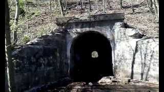 Mountain Tunnel Circa 1918 - Raven Run Creek, West Mahanoy Township, PA