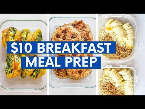 Budget-Friendly Breakfasts | 4 Meals Under $10!