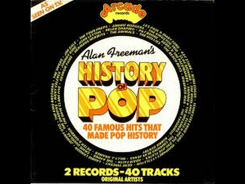 Allan Freedman's History of Rock --  Dreamboat - Alma Cogan/Arcade England 1974