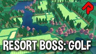 Build your Dream Golf Course! | RESORT BOSS GOLF gameplay alpha preview | ALPHA SOUP