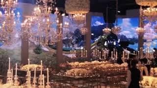 Terrace Wedding 3D Mapping - Amman, Jordan