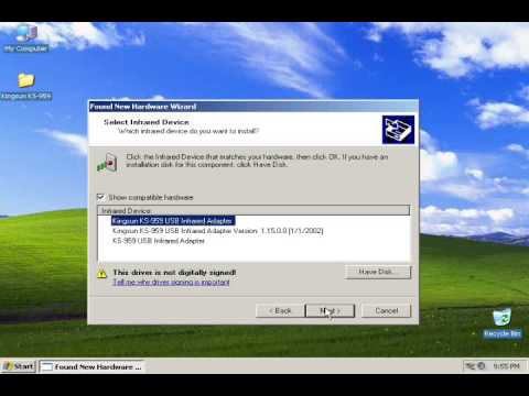 KINGSUN 959 DRIVER FOR PC