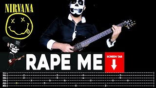 Nirvana - Rape Me (Guitar Cover by Masuka W/Tab)