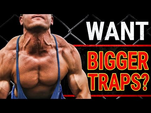 2 MUST DO Exercises For BIGGER TRAPS! | GROW STUBBORN TRAPS NOW!
