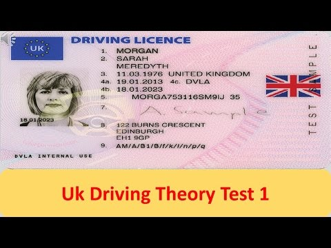 UK Driving Theory Test 1