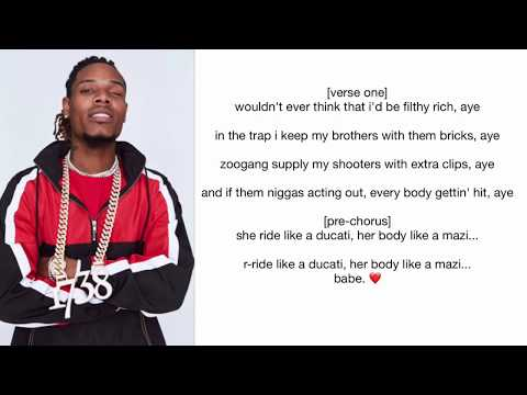 fetty wap - text ur number [NEW] (lyrics&audio)