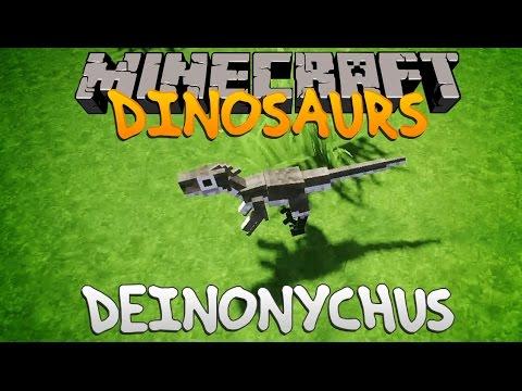 Minecraft Dinosaurs - Part 10: Deinonychus.