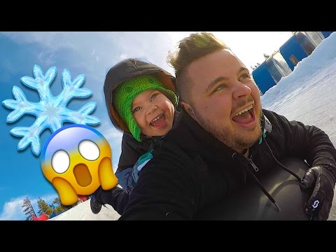 SUPER FAST SNOW SLEDDING!
