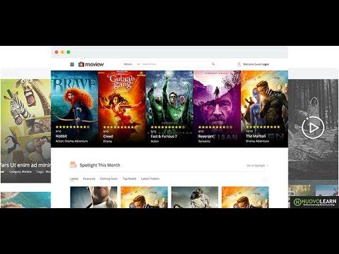 Moview | Movie Database & Review Joomla Template | Best Joomla Template 2016