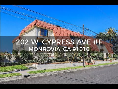 The Speranta Group Presents: 202 W. Cypress Ave #F, Monrovia, CA 91016