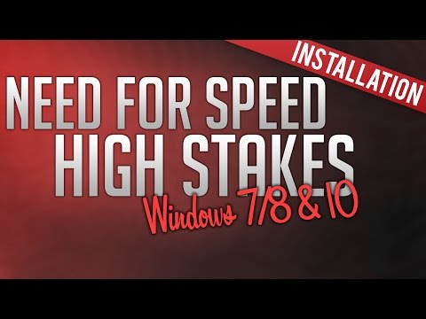 How To Install Need For Speed: High Stakes (Windows 7, 8 & 10)
