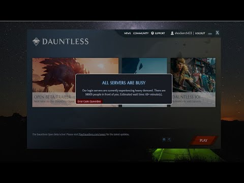 dauntless matchmaking not working