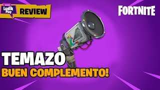 REVIEW TEMAZO, GOOD SUPPORT FOR PISTOLAS! FORTNITE SAUVE LE MONDE guide
