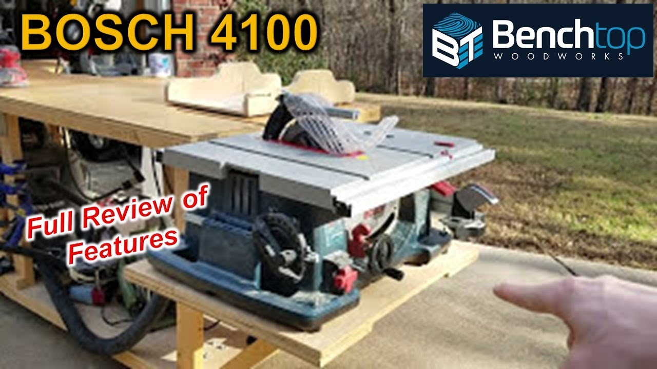 Delicieux BOSCH 4100 Table Saw Review