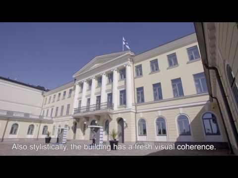 MFA Friday Clip: Finnish Architecture 2016 – Renovation of the Presidential Palace