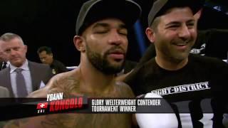 GLORY 37 Los Angeles: Yoann Kongolo vs. Karim Benmansour (Tournament Finals)