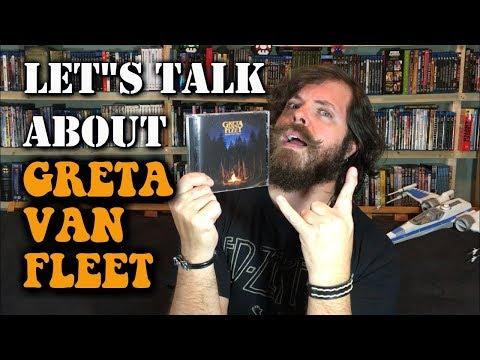 Let's Talk About Greta Van Fleet (From The Fires, Black Smoke Rising)