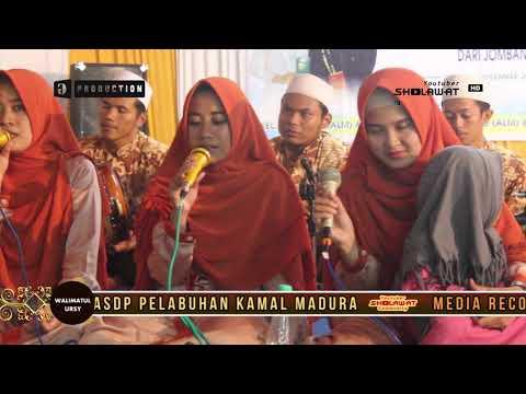 MUHASABATUL QOLBI - YA ASYIQOL ( WALIMATUL URSY ) LIVE BANGKALAN MADURA 2017