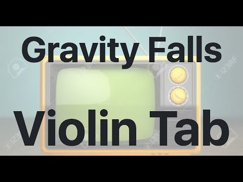 Learn Gravity Falls on Violin - How to Play Tutorial