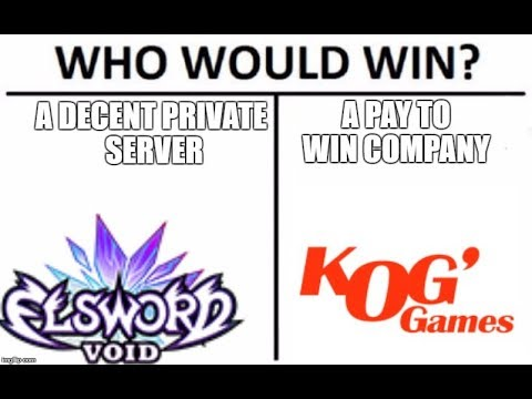 Elsword - The Pros and Cons of Void Elsword
