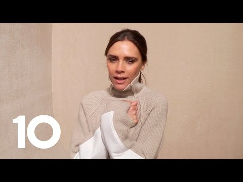 Up Close and Personal With Victoria Beckham
