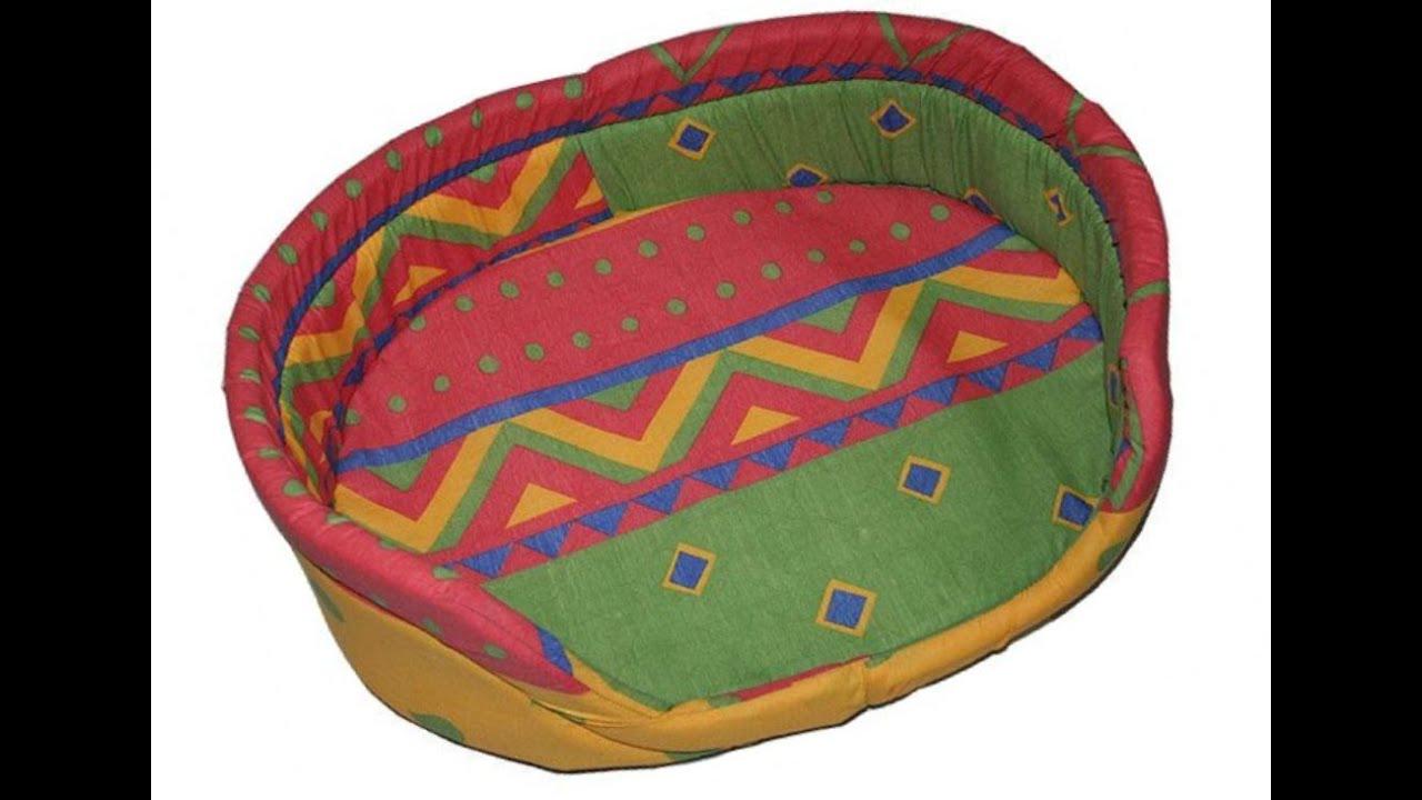 Лежанка для питомца своими руками!make pet bed/Домик для собак/кукольные поделки Идеи рукоделия