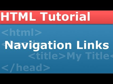 PROgramming With The Pro - HTML Part 3 - Navigation Links