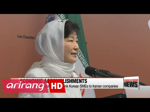 State visit to Iran formed new cooperative relationship with Tehran: President Park