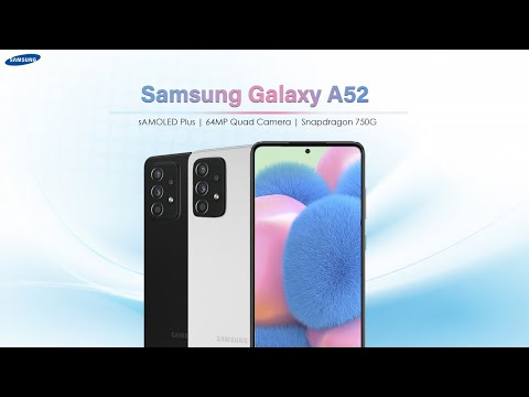 Samsung Galaxy A52 5G – First Look – Specifications Revealed